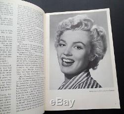Sukces, Histoire De Marilyn Monroe 1953 Très Rare Danemark Pics De Nombreuses