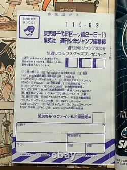 Super Rare One Piece 1er Épisode Hearkly Shonen Jump 1997 No. 34 De Japanmagazin