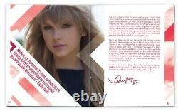 Taylor Swift Red Exclusive'zinepak 16 Piste CD 96-page Magazine Poster 0630