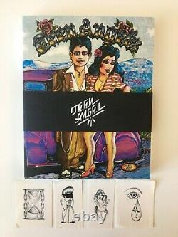 Teen Angels Magazine Book 1ère Édition, Rare, Sold Out Tattoo, Lowrider, Gang Art