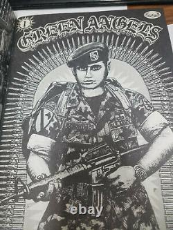 Teen Angels Magazine Green Angels Edition Circa 1983 1er Numéro Rare Chicano