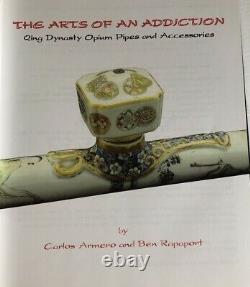 The Arts Of Addiction Opium Book Pipe Lamp Smoking Tray Pillow Knife Jar Poids
