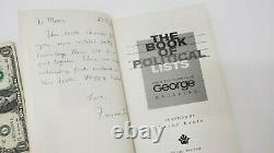 The Book Of Political Lists George Magazine Blake Eskin 1998 Livre De Poche Jfk Jr