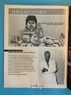 The Source Magazine Décembre 1990 Eazy E Rare Vintage