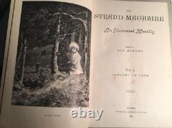 The Strand Magazine Bound Years 1891 À 1902 Newnes 24 Vols