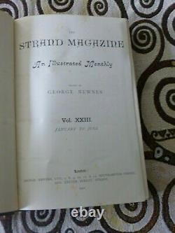 The Strand Magazine Sherlock Holmes 1er Ed Vol 23 Hound Of The Baskervilles