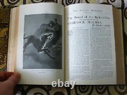 The Strand Magazine Sherlock Holmes 1st Ed Vol 23 Hound Of The Baskervilles