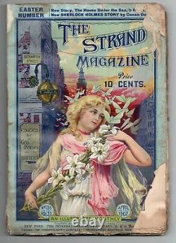 The Strand Magazine Sherlock Holmes A Conan Doyle Hound Baskervilles Avril 1902