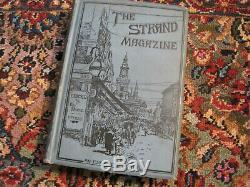 The Strand Magazine Vol. V 1893, 1er Ed Livre Relié Sherlock Holmes Adven 6 Histoires