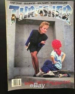 Thrasher Magazine Lot 1988 Robert Williams 9 Questions Eric Dressen Ex-vg