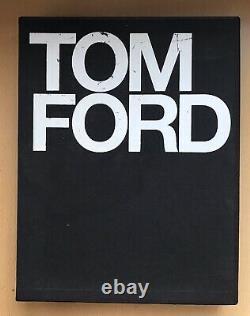 Tom Ford Book 1ère Édition/ 1ère Impression En 2004 Signé / Autographe