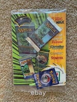 Top Deck Vol. 1 Numéro 1, Décembre 1999 Avec Magic Pack Et Pokemon Card Sealed