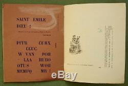 Tous Les Jours Bul 7, 1958 Magazine D'avant-garde Belge Cobra Pol Bury, Unique Exemplaire