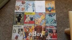 Toutes Les Magazines Playboy De 1953 2014, Nice Condition, 724 Mags