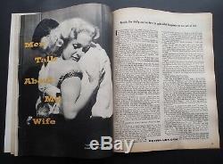 Très Rare 1955 True Romance Belle Marilyn Monroe Cover! Achevée