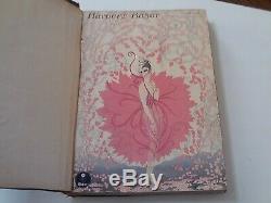 Très Rare Volume Bound Complète De Bazar Harper 1917 6 Questions Juillet-dec De Nice