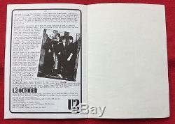 U2 Numéro Un Magazine Pré-propagande Novembre 81 Véritable Officiel Promo