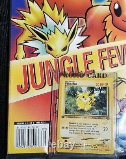 Ultra Rare Duelist Magazine Septembre 1999 Avec 1ère Édition Pikachu Promo 60/64 Scellé