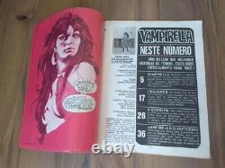 Vampirella #1 Rare Or. Premier B R A Z I L Edition 1973