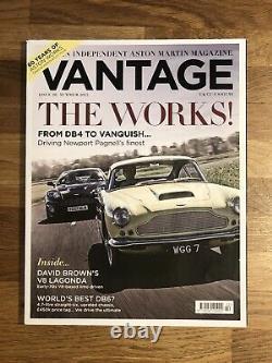 Vantage Magazine Numéros 1 2 3 4 5 6 7 8 9 10 11 12 Aston Martin V8 V12 Vanquish