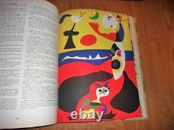 Verve Magazine Vol. 1 N ° 1,2,3,4 Lié Excellent État Complet Rare