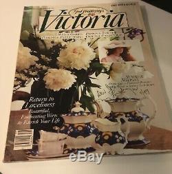 Victoria Magazine Mega Lot 163 Numéros Collection Complète 1987-2003 2,45 $ / Numéro