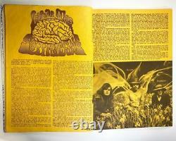 Vintage Années 1970 Gandalf's Garden #5 Magazine Hippie Counter Culture Occult Crowley