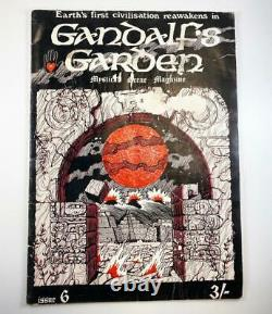 Vintage Années 1970 Gandalf's Garden #6 Magazine Hippie Counter Culture Occult Londres