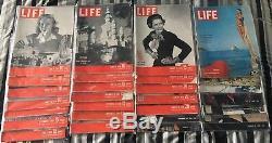 Vintage Life Magazine Beaucoup (28)! Années 1940, Années 1950! Great Photos Voir La Description