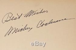 Vintage Mickey Cochrane Signe Jeu 1939 Premier Ed Autographed Livre Le Fan