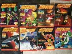 Vintage Nintendo Puissance Magazines Lot De 21, 1988-1991 Vg, G Et F Condition