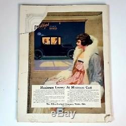 Vintage Vogue Magazine Motif Printemps Nombre De Vogue 1 Mars, 1916 Amazing
