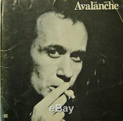 Vito Acconci Art Magazine / Avalanche Magazine # 6 Automne 1972 Édition Première Édition