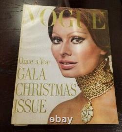 Vogue Magazine Décembre 1970 Richard Avedon Sophia Loren Irving Penn (pre-owned)