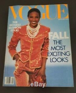Vogue Magazine Septembre 1989 Naomi Campbell (occasion)