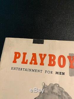 Volume 1 Décembre 1953 Numéro 1 Playboy! Marilyn Monroe! Avec Supermanequin