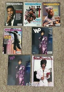 Wax Poetics Magazine Complète Collection # 1-50 Funk Jazz, Plus Xtras Soul Hip Hop