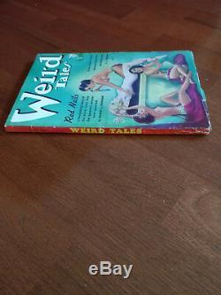 Weird Tales Juillet 1936 Red Nails Par Howard Nu Sacrifice Couverture