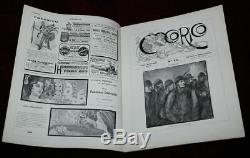 Xrare Orig ' 1901 Frantisek Kupka Lithographie Cocorico Art Nouveau Beauté Magazine